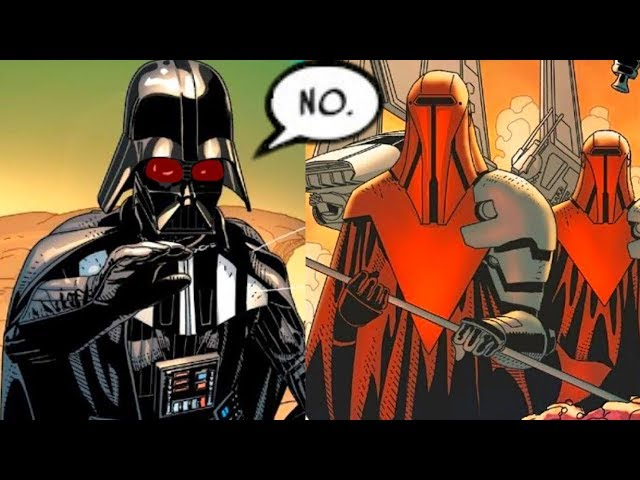 The Royal Guards that Betrayed Darth VaderCanon - Star Wars Comics Explained