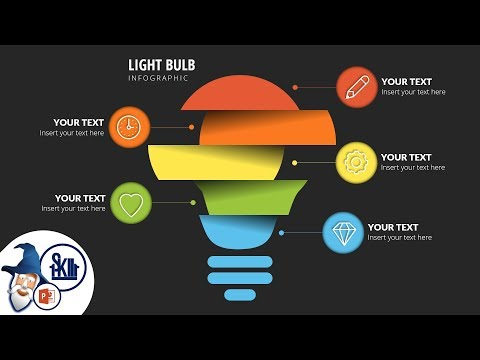Design & Animate Light Bulb Infographics in PowerPoint