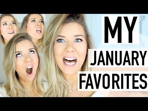 January Favorites: Skincare, Makeup, Food & MORE!