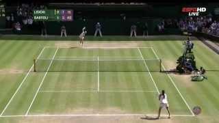 Marion Bartoli vs Sabine Lisicki Wimbledon 2013