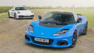 Porsche 911 Carrera S Vs Lotus Evora GT410 Sport | Carfection 4K