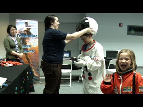 On Saturday, May 14, NASA Goddard invited the community for a day full of family fun, music, food, and science. This video is public domain and can be downlo...