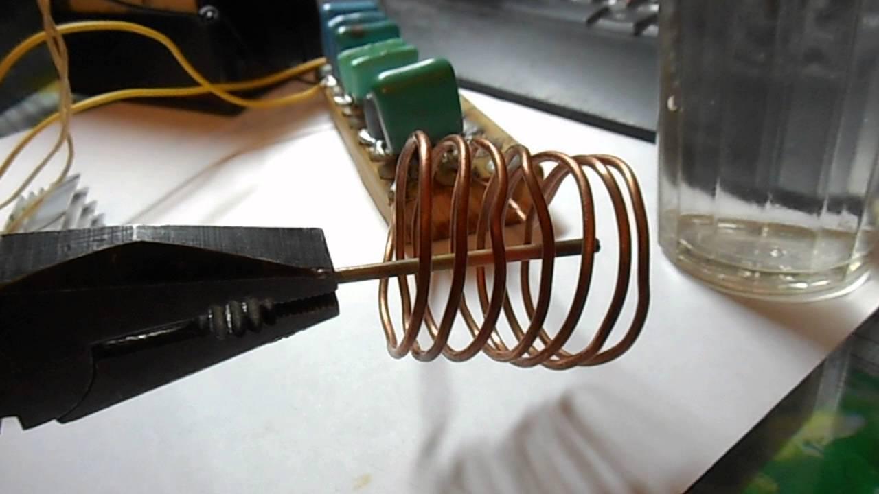Индукционный нагреватель для металла