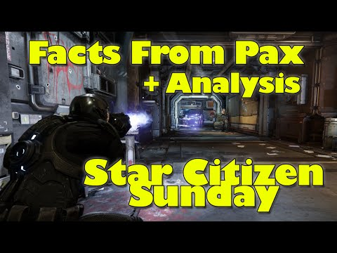 Star Citizen Sunday - Facts From Pax + Analysis
