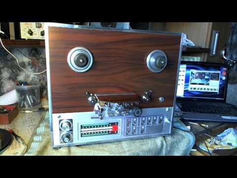 Самодельный магнитофон МАГ 78 г..wmv