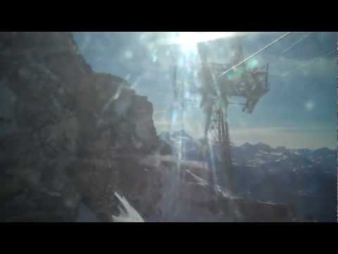 Lift Skiing Plaine Morte 3000 Crans Montana Valais Switzerland