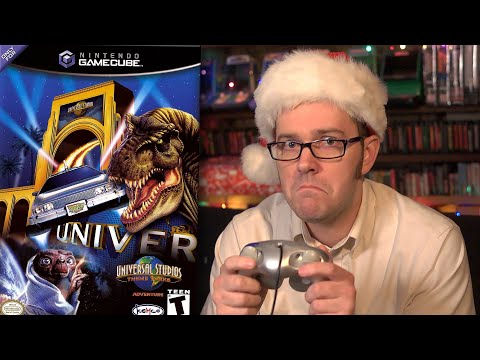 Universal Studios Theme Parks Adventure - Angry Video Game Nerd - Episode 132