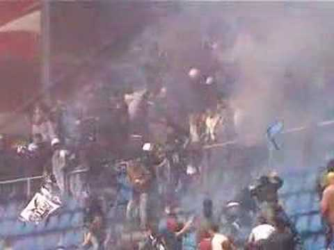 Paok haos - Uleb cup fight paok red star grobari