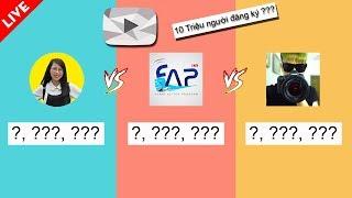 🔴 LIVE   Thơ Nguyễn vs NTN Vlogs vs FAPTV   Hau Hoang vs Vanh Leg