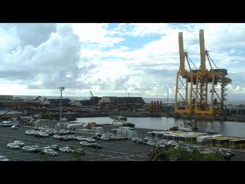 Costa Classica à quai,Port Est Réunion,21/02/2015.