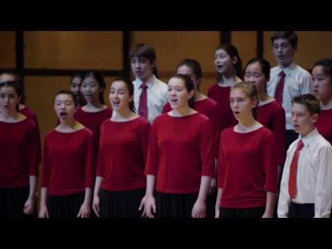 Toronto Children's Chorus Chamber Choir - Wir eilen mit schwachen (Bach)