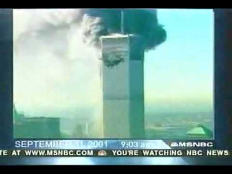 Live TV Footage/Coverage of 9/11 (Second Plane hit, Collapse of Towers) World Trade Center