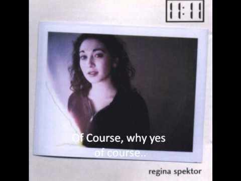 Regina Spektor - Back Of A Truck