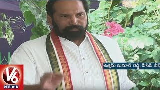 PCC Chief Uttam Kumar Reddy Fires On TRS Government Over Farmers Problems
