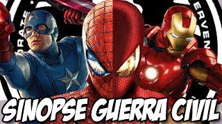 Guerra Civil da Marvel ja tem história e vai começar a ser gravada