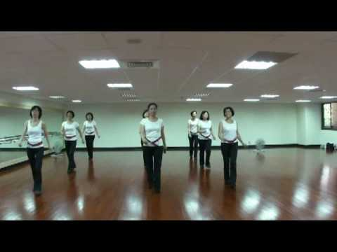 Ghost Train 神秘火車 linedance CD 4-3 teach n demo