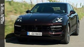 2020 Porsche Cayenne Turbo Coupe | Mahagoni Metallic | Driving, Interior, Exterior