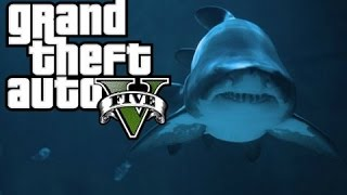 GTA 5: Trevor Vs Shark (GTA V Machinima)