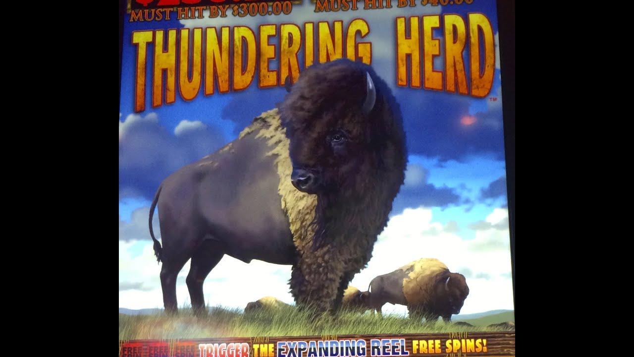 thundering herd slot machine