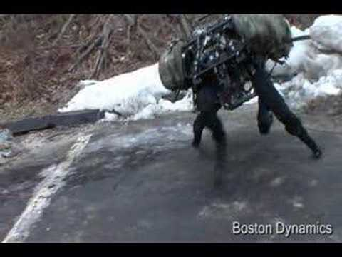 BigDog Boston Dynamics