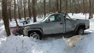 Snow plowing and truck maintenance