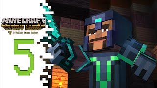 Minecraft: Story Mode - EP05 - Axel Or Olivia...?