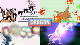 Evolution of Pokémon Moves (Dragon Type)