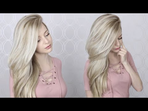 How to: Easy Blowout/Blowdry Routine   Wet to Dry