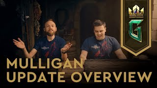 GWENT: THE WITCHER CARD GAME | Mulligan Update Overview 07.01.2019