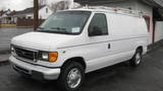 2005 Ford E150 Start Up, Engine, and In Depth Tour