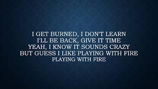 Thomas Rhett ft. Danielle Bradbury - Playing with Fire Lyrics