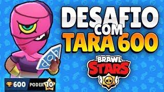 CARREGANDO ALEATÓRIOS COM A TARA   DESAFIO NO MODO FUTE-BRAWL - Brawl Stars