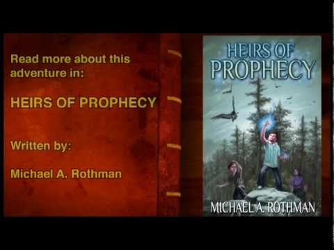 Heirs of Prophecy Book Trailer