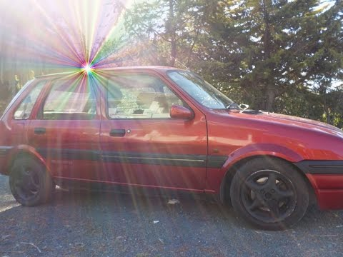 """MOVIE: """"The Short Drive Home"""" My 1994 Rover Metro 114 GSi"""