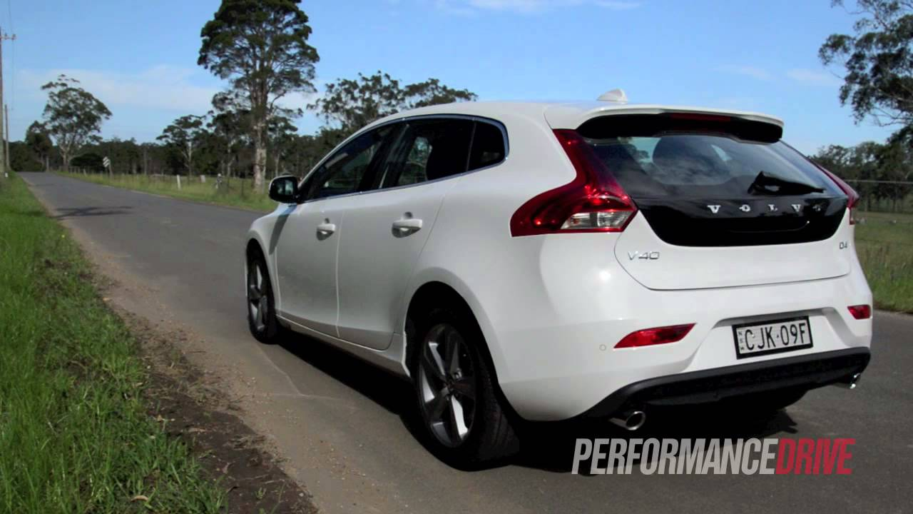 2013 Volvo V40 D4 Kinetic engine sound and 0-100km/h - YouTube