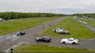 DFC Runway Drag Racing - Exotic and Muscle Cars Flat Out