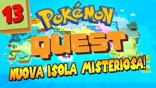 #13 POKEMON QUEST - Nuova isola MISTERIOSA. | Gameplay Pokèmon Quest Nintendo Switch