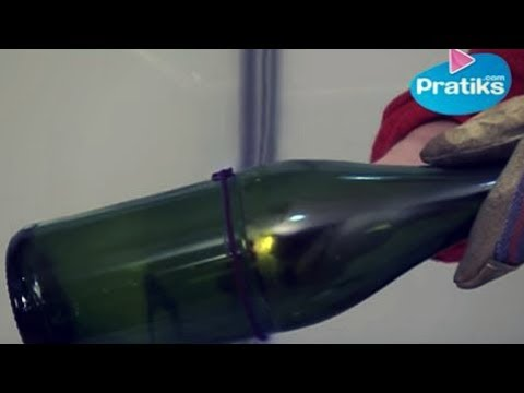 Comment et pourquoi couper en deux une bouteille en verre youtube - Comment couper du verre sans coupe verre ...