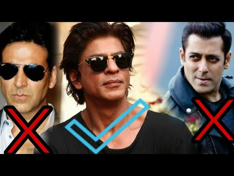 Salman Khan, Akshay Kumar सब OUT | Shahrukh Khan in