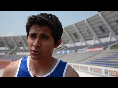 Alberto Álvarez, salto triple - oro. Universiada Nacional BUAP 2014