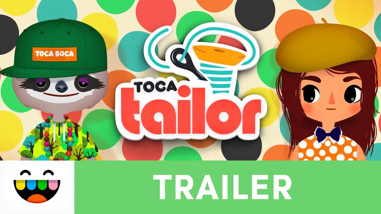Toca Tailor Trailer - Design & Dress Up Game
