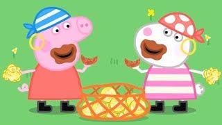 Peppa Pig Português 🎃 A Ilha do pirata 🎃 Peppa Pig Dublado Peppa Pig