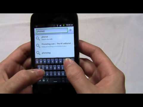 Huawei Ascend II Unboxing