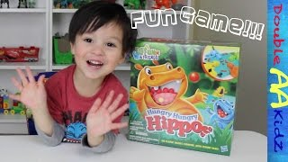 Hungry Hungry Hippos Game Challenge