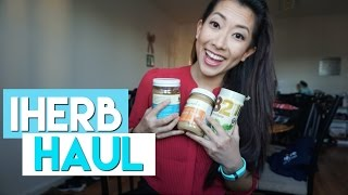 iHerb Haul: Food, Skincare, Supplements