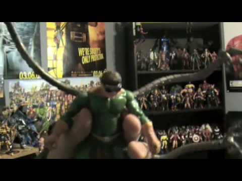 Marvel Legends Spiderman Villians figure review #1 Video