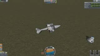 Kerbal Space Program Rescue Helicopter Trials