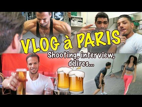 Vlog à PARIS LOUPAGE de Train INTERVIEW & SHOOTING Photo