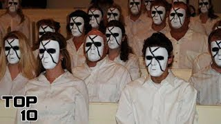 Top 10 Scariest Cults That Actually Existed