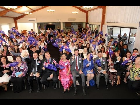 2015-05-31 {Part 2} Australian Citizenship Ceremony hosted by WAMCI